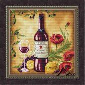 Схема для вышивки крестом Vine riserva Red
