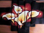 Схема для вышивки крестом Каллы. Отшив