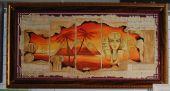 Схема для вышивки крестом Египет. Отшив.